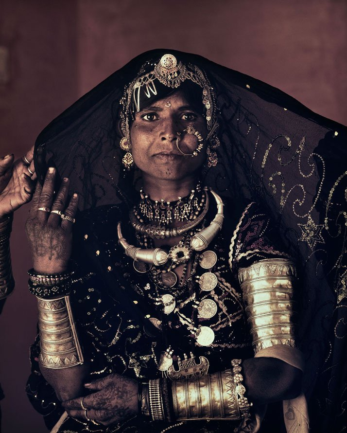 The RABARI tribe, INDIA, February 2012.photo © Jimmy Nelson.