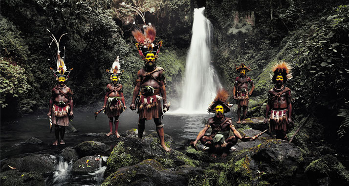 The HULI tribe, PAPUA NEW GUINEA, 2010.photo © Jimmy Nelson.