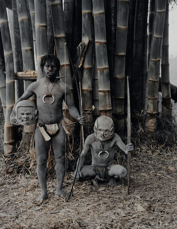 The ASARO tribe, PAPUA NEW GUINEA, 2010.photo © Jimmy Nelson.