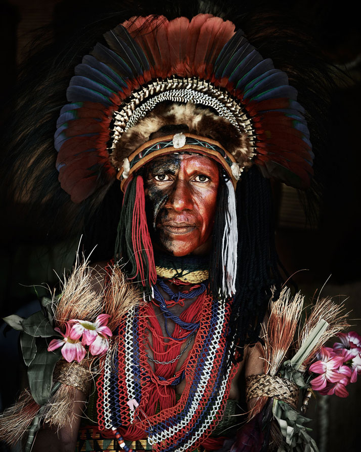 The GOROKA tribe, PAPUA NEW GUINEA, 2010.photo © Jimmy Nelson.