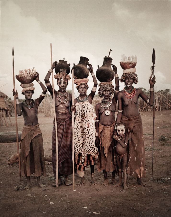 The DASSANECH tribe, ETHIOPIA, July 2011.photo © Jimmy Nelson.