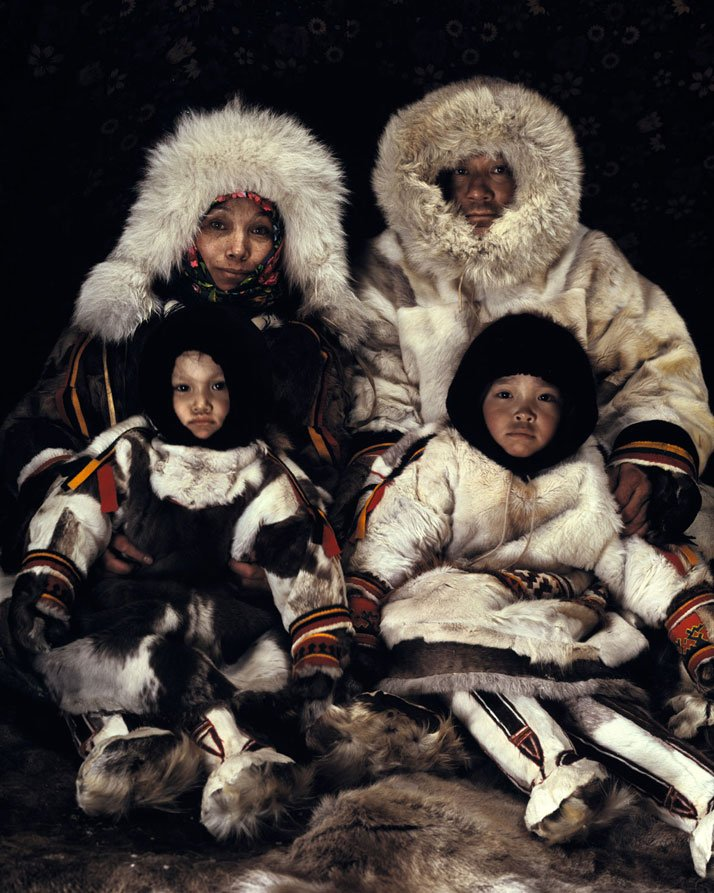 The NENETS tribe, SIBERIA - YAMAL, March 2011.photo © Jimmy Nelson.