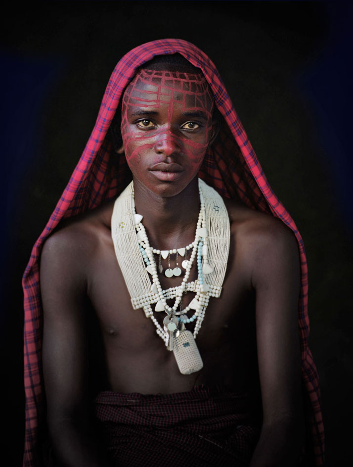 The MAASAI tribe, KENYA + TANZANIA, November 2010.photo © Jimmy Nelson.