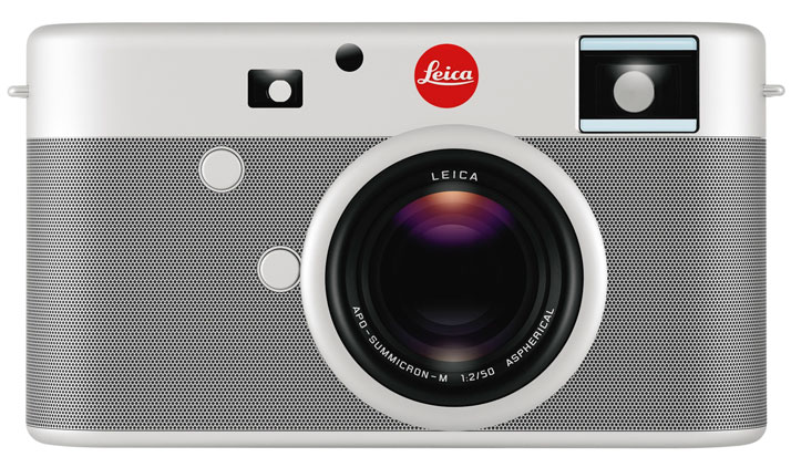 LEICADIGITAL RANGEFINDER CAMERACustom-made by Jony Ive and Marc Newson for the (RED) Auction 2013. Edition 01/01.Inscribed: Designed by Jony Ive &
