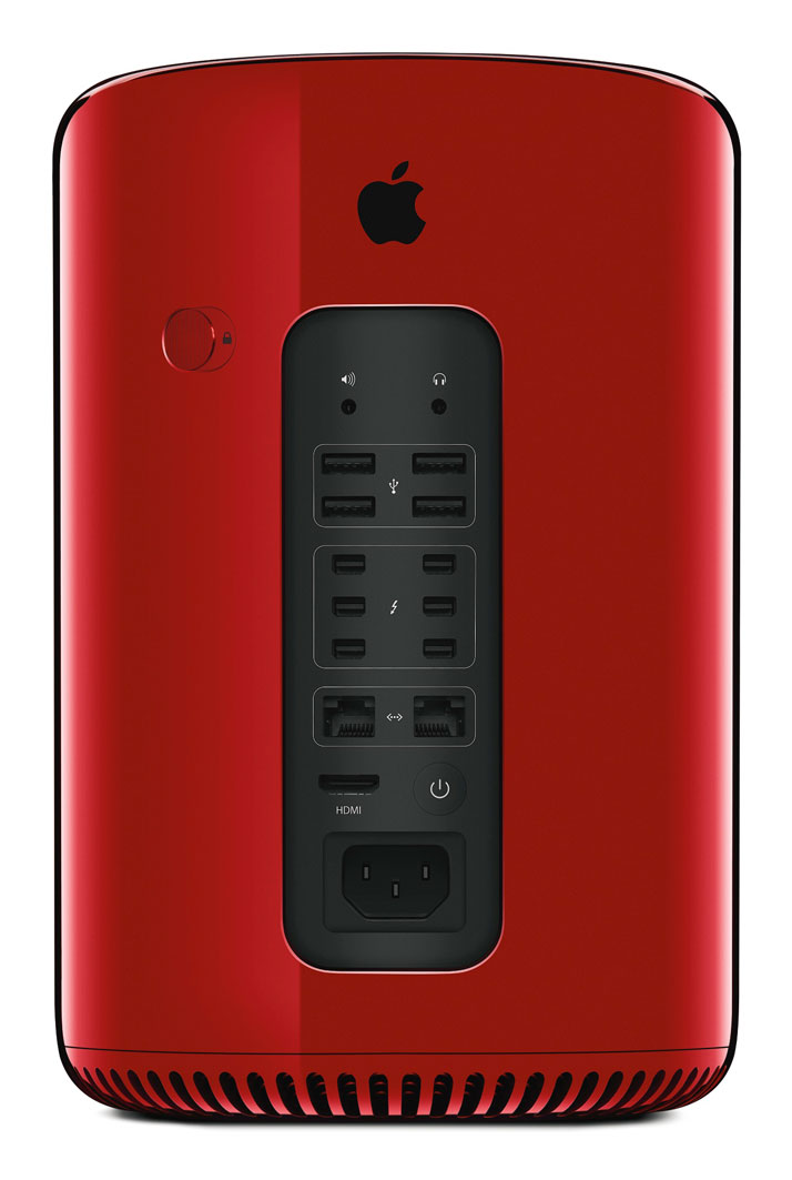 APPLE INC.MAC PROSelected and customised by Jony Ive and Marc Newson for the (RED) Auction 2013. Edition 01/01.Engineered extruded aluminiumHeight: 9