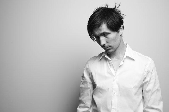 Tomáš Libertíny, photo by Jos Kottmann.