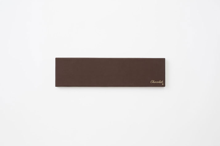 Chocolate-paint by Nendo for Seibu, 2013.Photo © Ayao Yamazaki.