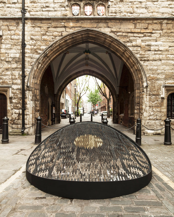 Heart of Architecture, St Johns Gate, Clerkenwell, London.Photo © Giles Miller Studio.