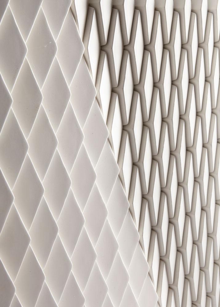 innovative pixel like surface designs by giles miller. Black Bedroom Furniture Sets. Home Design Ideas