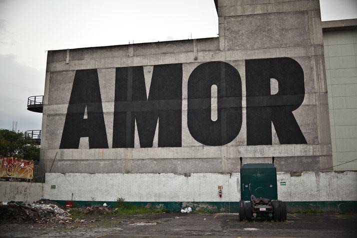 AMOR Mexico DF, Mexico, 2011. Photo© SpY.