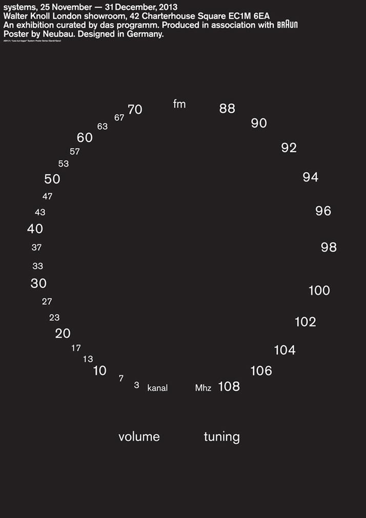 Designed by Neubau (''Less but bigger'' series).