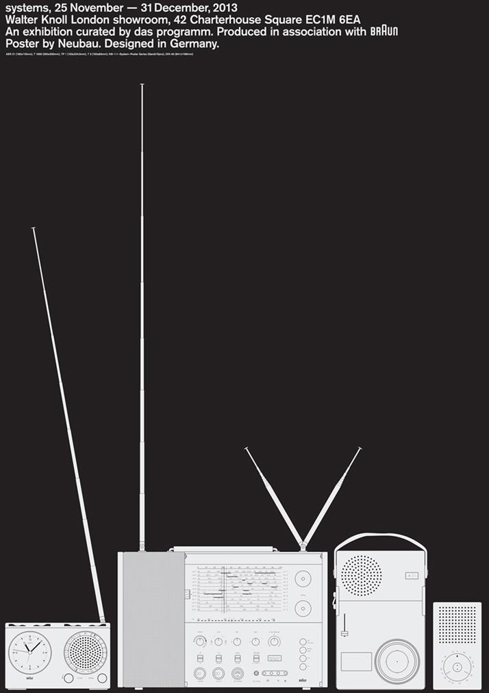 Designed by Neubau (''Braun 121'' series).