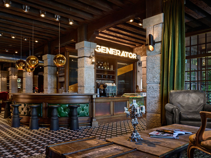 Generator hostels contemporary cool hits venice yatzer for Design hotel venezia
