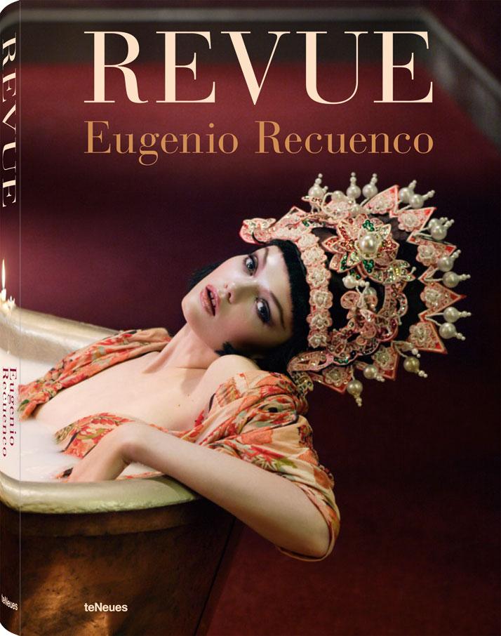 ''Revue: Eugenio Recuenco'' book cover. Photo © 2013 Eugenio Recuenco, teNeues.