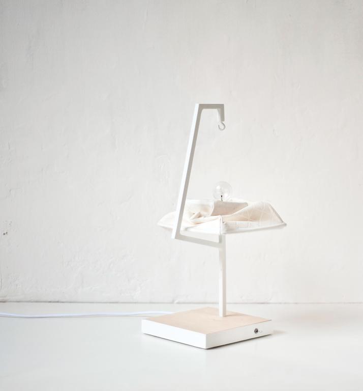 STRUCT table lamp by Eva Menga.