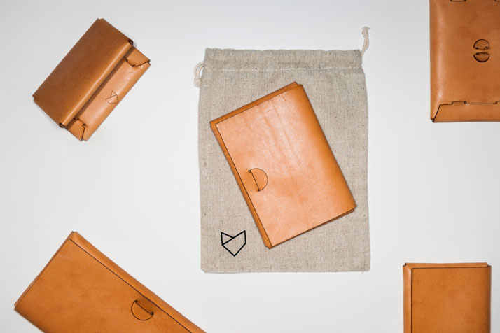 BURISSA leather wallet collection by Frederic Pieck.