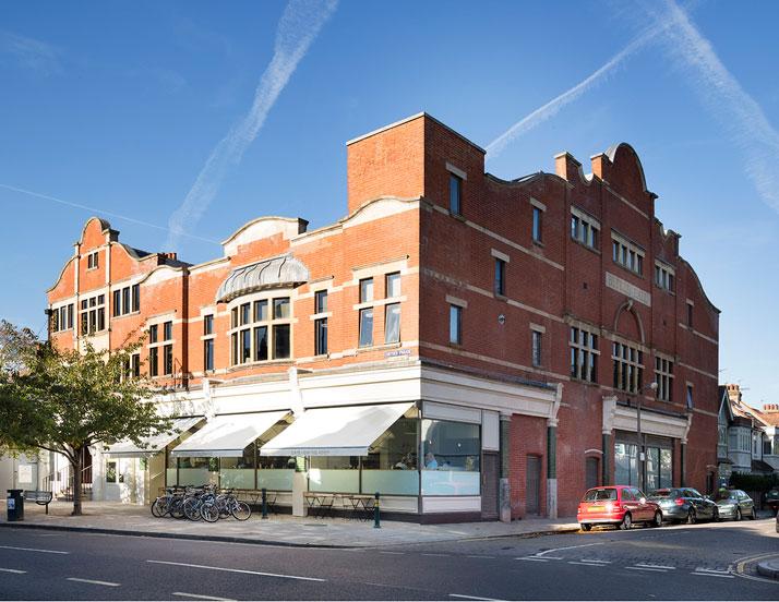 The Olympic Studios's building. Photo© Paul Raeside.