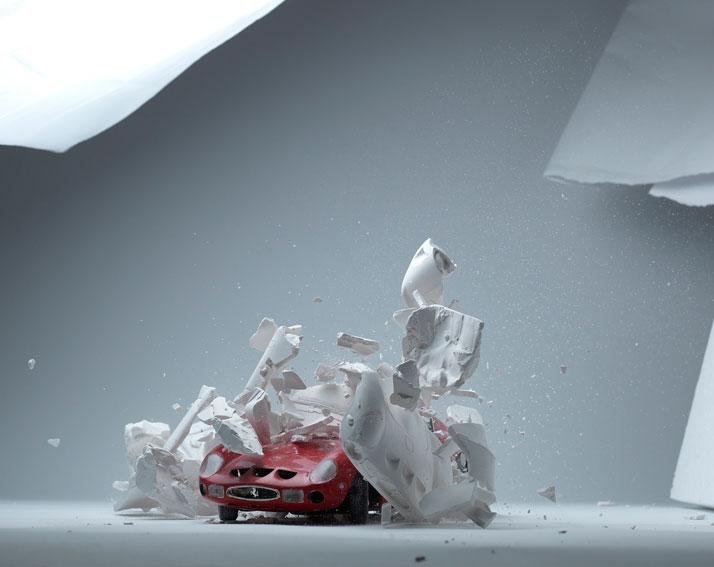 Hatch series (making of), photo © Fabian Oefner.