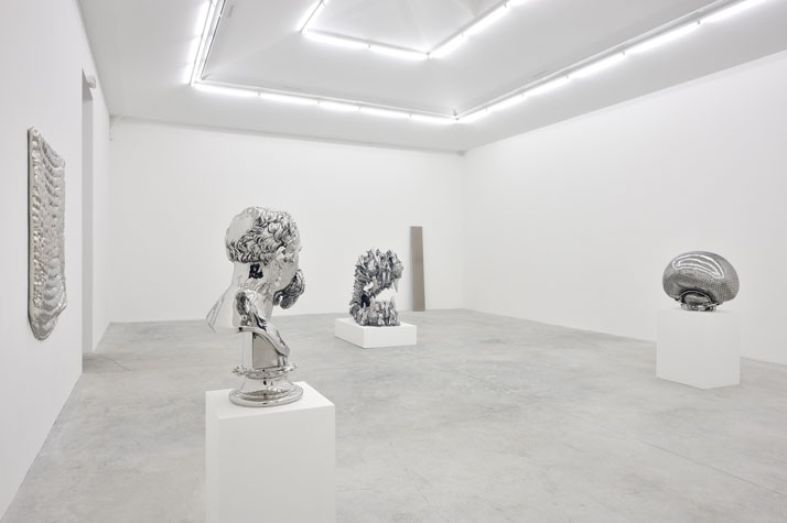 Joel Morrison, installation view at Almine Rech Gallery.Courtesy of the artist and Almine Rech Gallery.