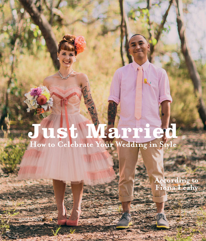 Book Cover, ''Just Married'', Copyright Gestalten 2013.