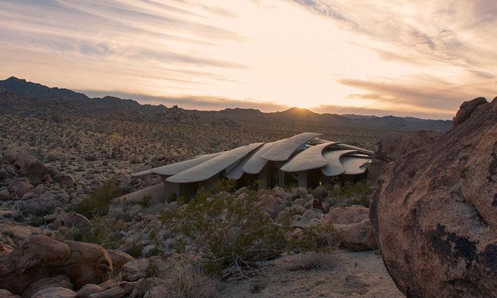 The Desert House A Landmark Of American Organic