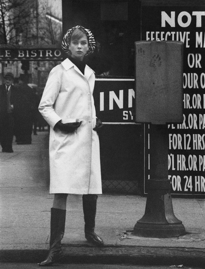 David Bailey, American Vogue, April 1962 © 1962 Condé Nast.