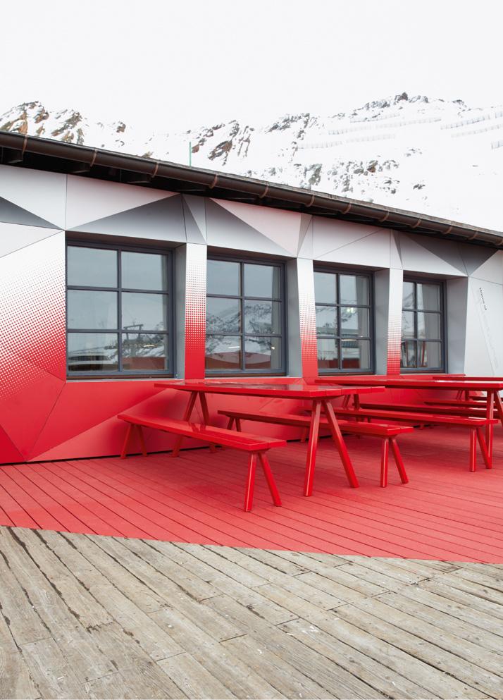 the audi quattro festkogl alm at the diamond of the alps yatzer. Black Bedroom Furniture Sets. Home Design Ideas
