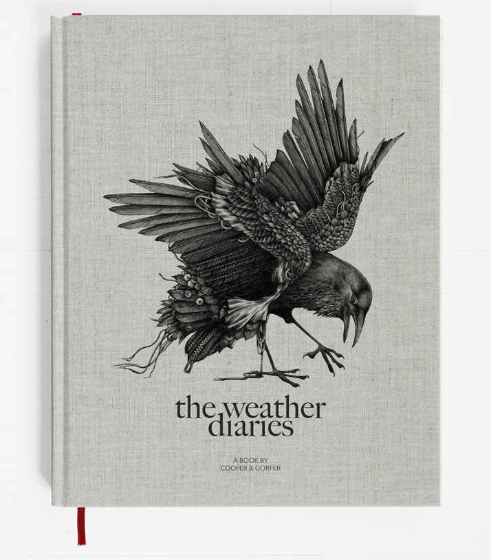 The Weather Diaries by Cooper & Gorfer, Nordic Fashion Biennale, copyright The Nordic House, Iceland & SEEK 2014. Image courtesy of Gestalten.