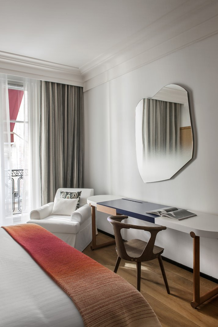 The refurbished h tel vernet in paris by fran ois for Designhotel paris