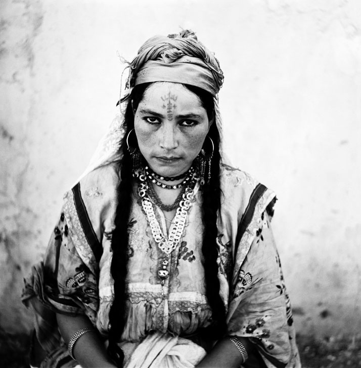 Portrait of an Algerian woman, Algeria, 1960. © Marc Garanger, artist's private collection.