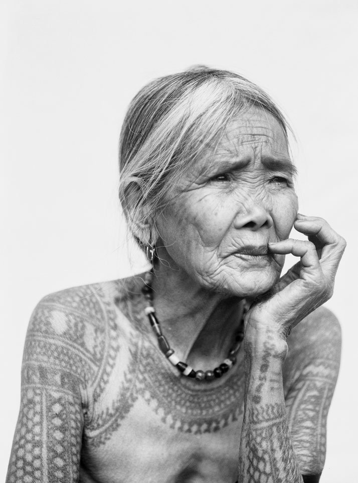The last tattooed Kalinga woman, Philippines, 2011. © Jake Verzosa, artist's private collection.