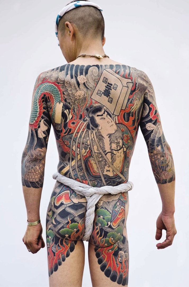 Traditional Japanese tattoo © Photo: Tatttooinjapan.com / Martin Hladik.