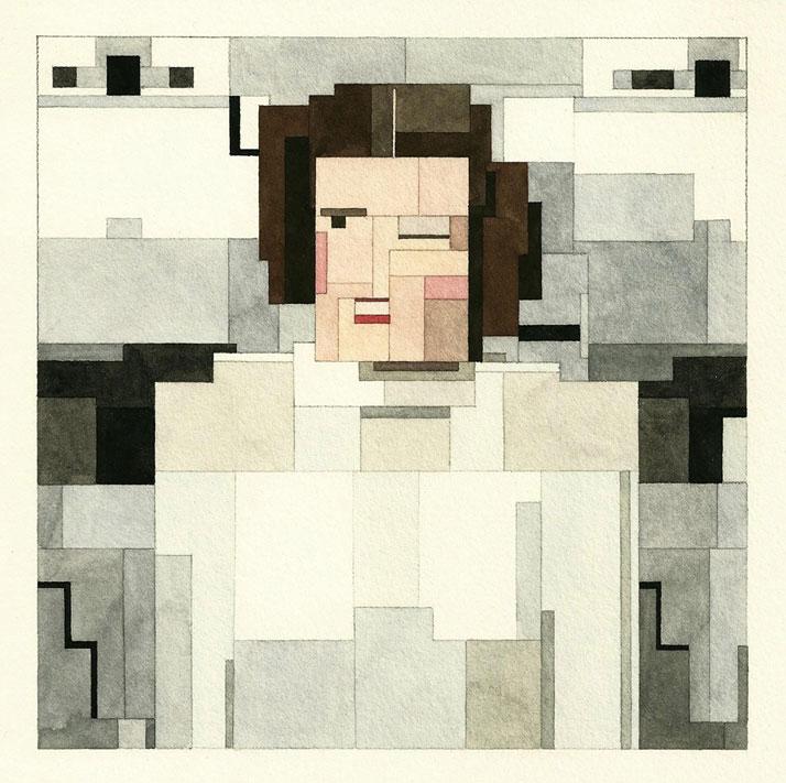 Princess Leia. © Adam Lister.