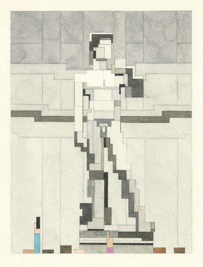 Statue of David. © Adam Lister.