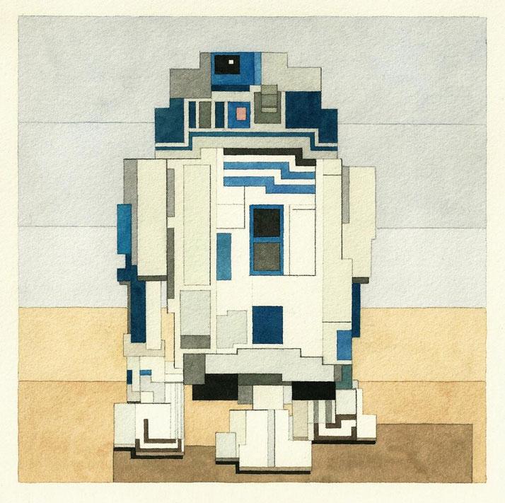 R2-D2. © Adam Lister.