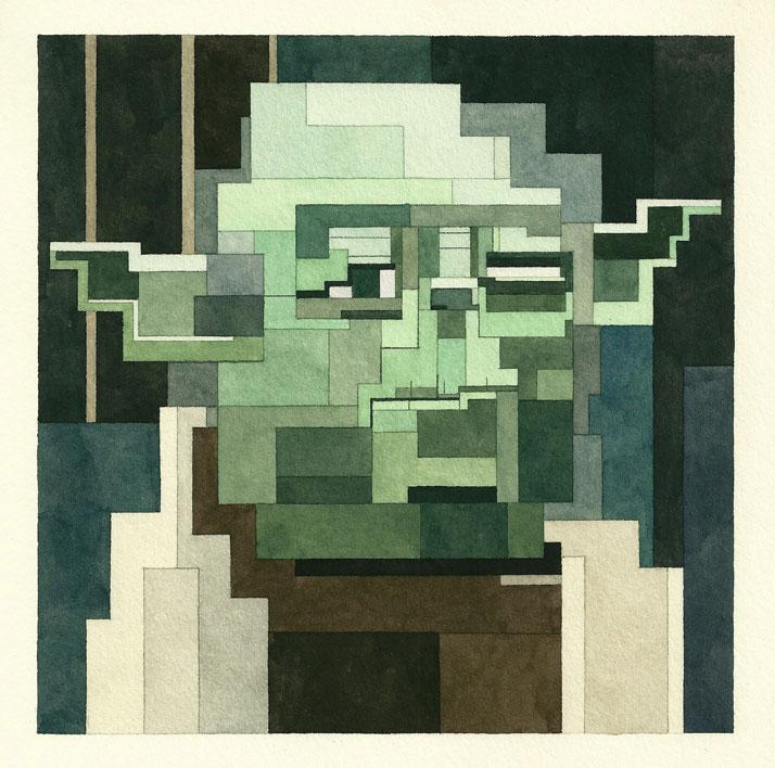 Yoda. © Adam Lister.