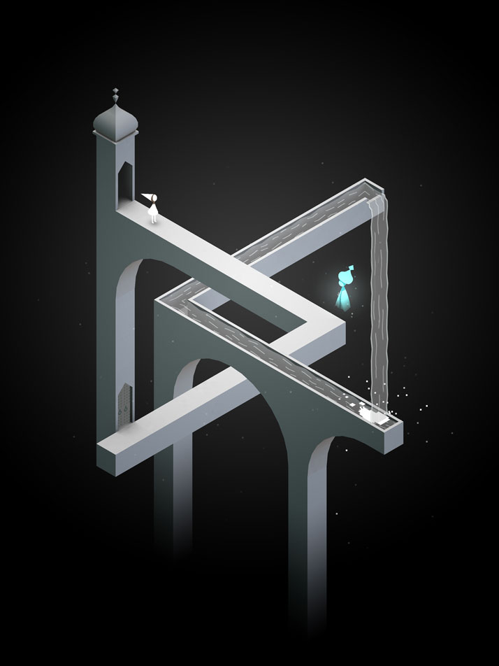 Monument Valley iPad screenshot © USTWO.