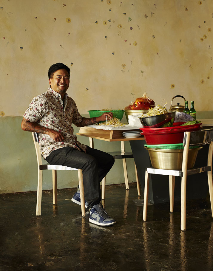Roy Choi, photo by Adrian Gaut, © The Line Hotel, L.A.