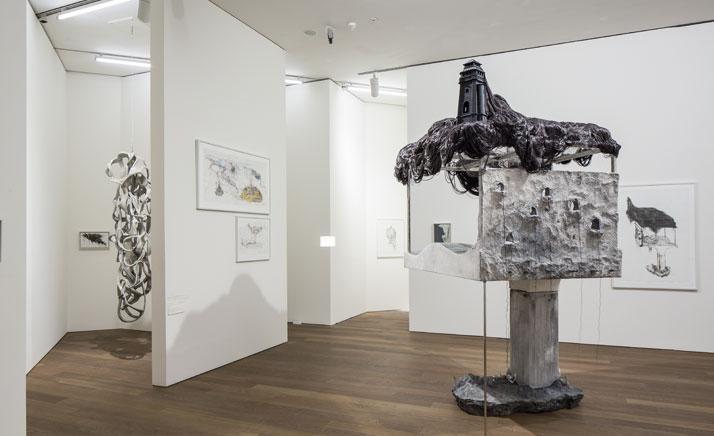 Installation view at the exhibition LEE BUL, Mudam Luxembourg (5 October 2013 - 9 June 2014.photo © Eric Chenal.