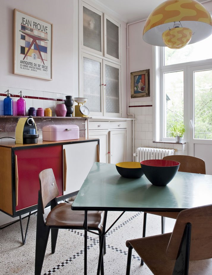 Brussels Vintage Home, Photography: Nicolas Mathéus, from The Chamber of Curiosity, Copyright Gestalten 2014.