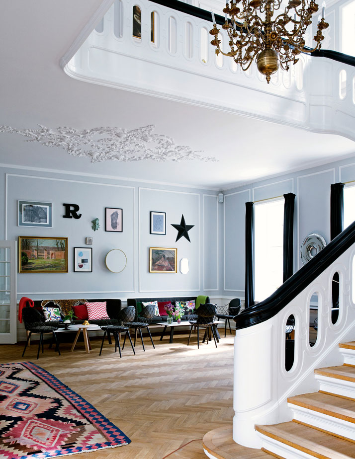 Rungstedgaard Hotel, Design by Frederikke Aagaard, Photography: Line Klein, from The Chamber of Curiosity,Copyright Gestalten 2014.