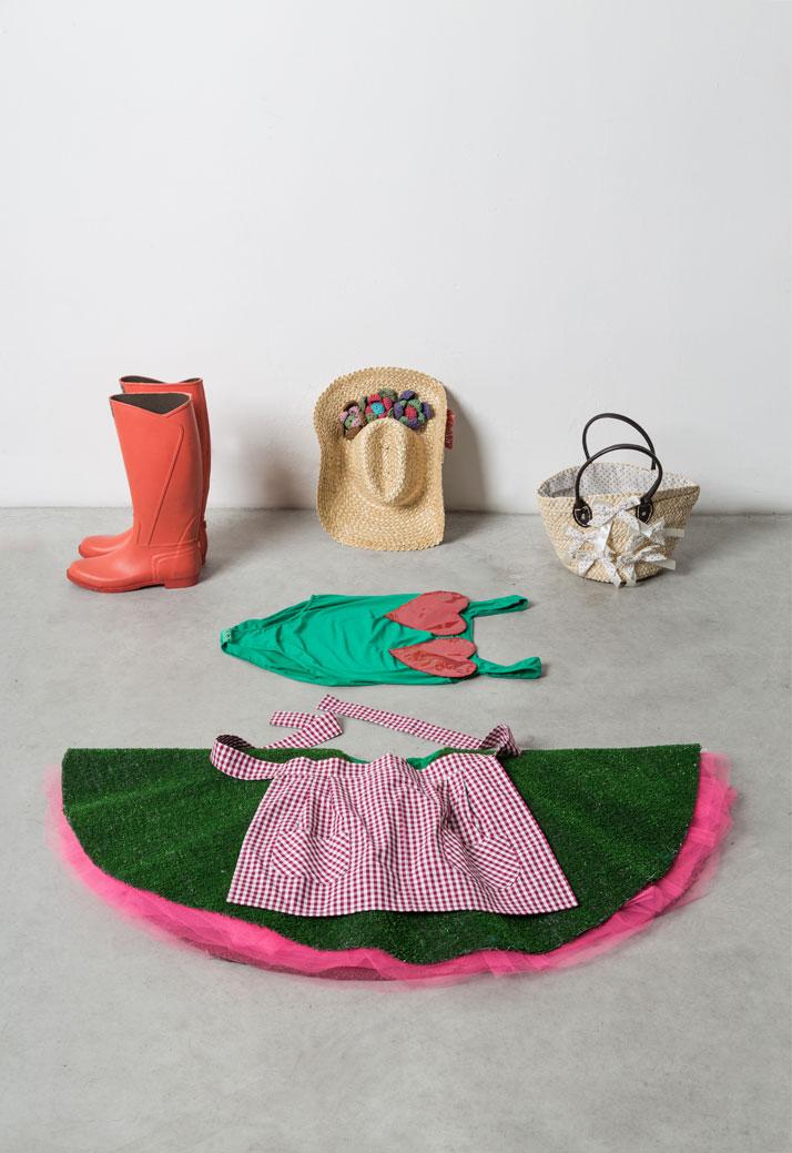 ELIO FIORUCCI ''Abito della coltivatrice d'orto'', photo © Triennale di Milano.
