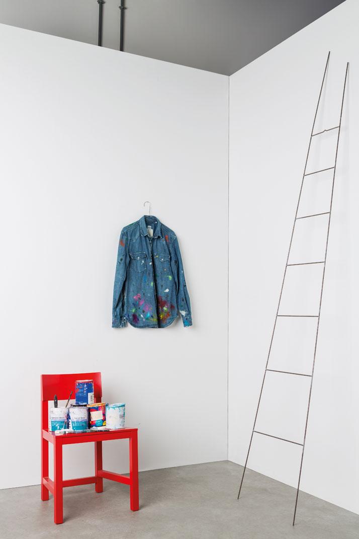 ALBERTO ASPESI ''Camicia da lavoro per pitturare i sogni'', photo © Triennale di Milano.