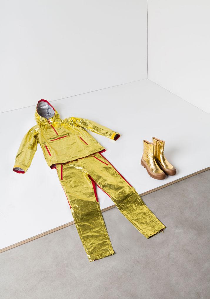 ISSEY MIYAKE ''Extreme Film, Collezione Uomo A/I 12'', photo © Triennale di Milano.