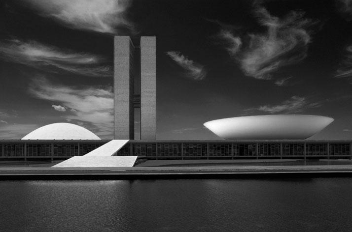 The National Congress, Brasília, 2011. Photo © Olaf Heine.