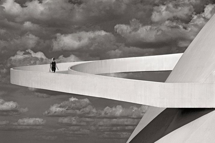 Girl Descending a Ramp, Brasília, 2012. Photo © Olaf Heine.