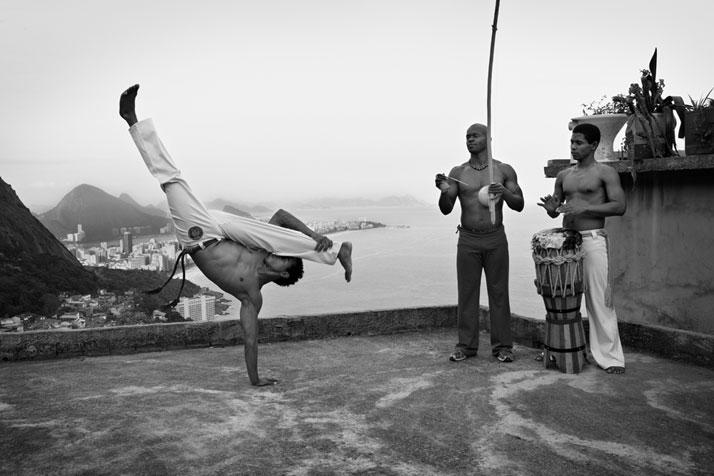 Capoeira, Vidigal, Rio de Janeiro, 2012. Photo © Olaf Heine.