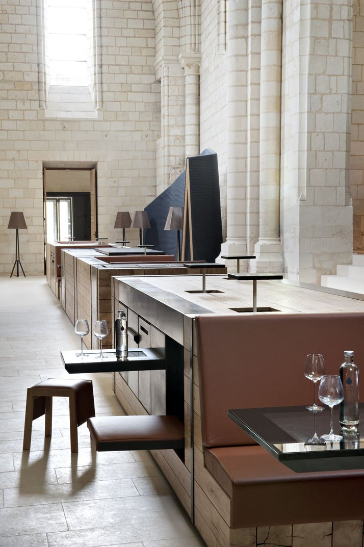 Decordemon the abbaye de fontevraud hotel in anjou france - Hotel abbaye de fontevraud ...