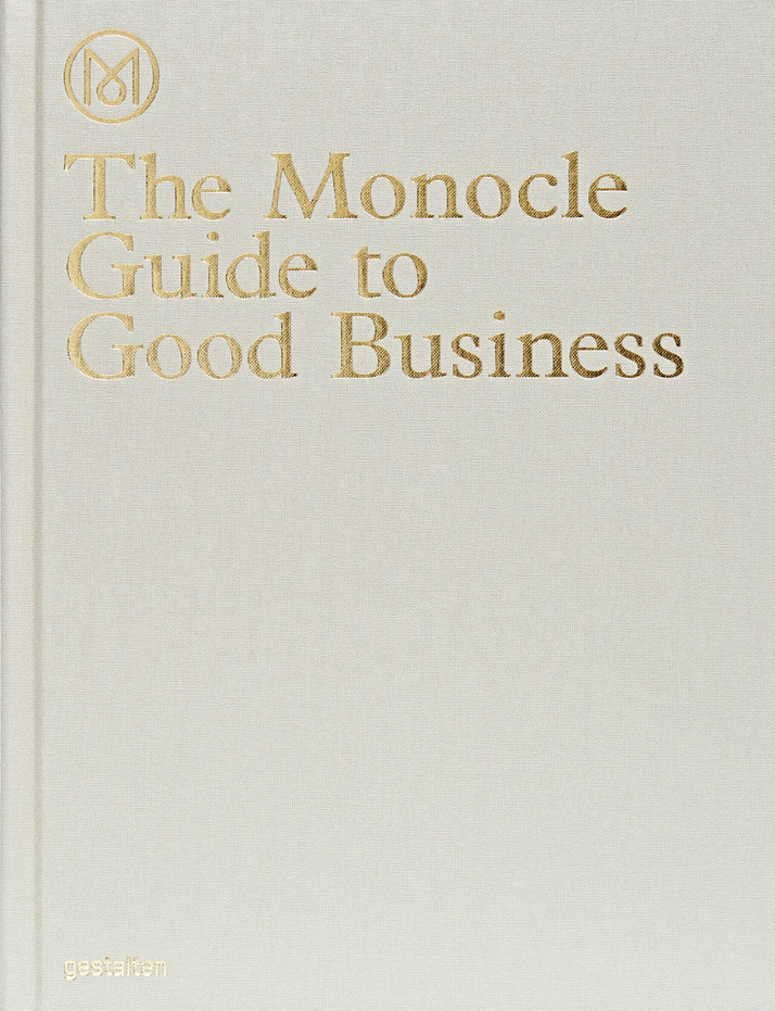The Monocle Guide to Good Business, Book cover, Copyright Gestalten 2014.