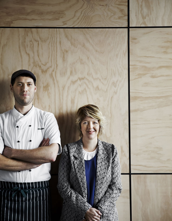 Sam Canning and Fiona Lynch, photo © Sharyn Cairns.